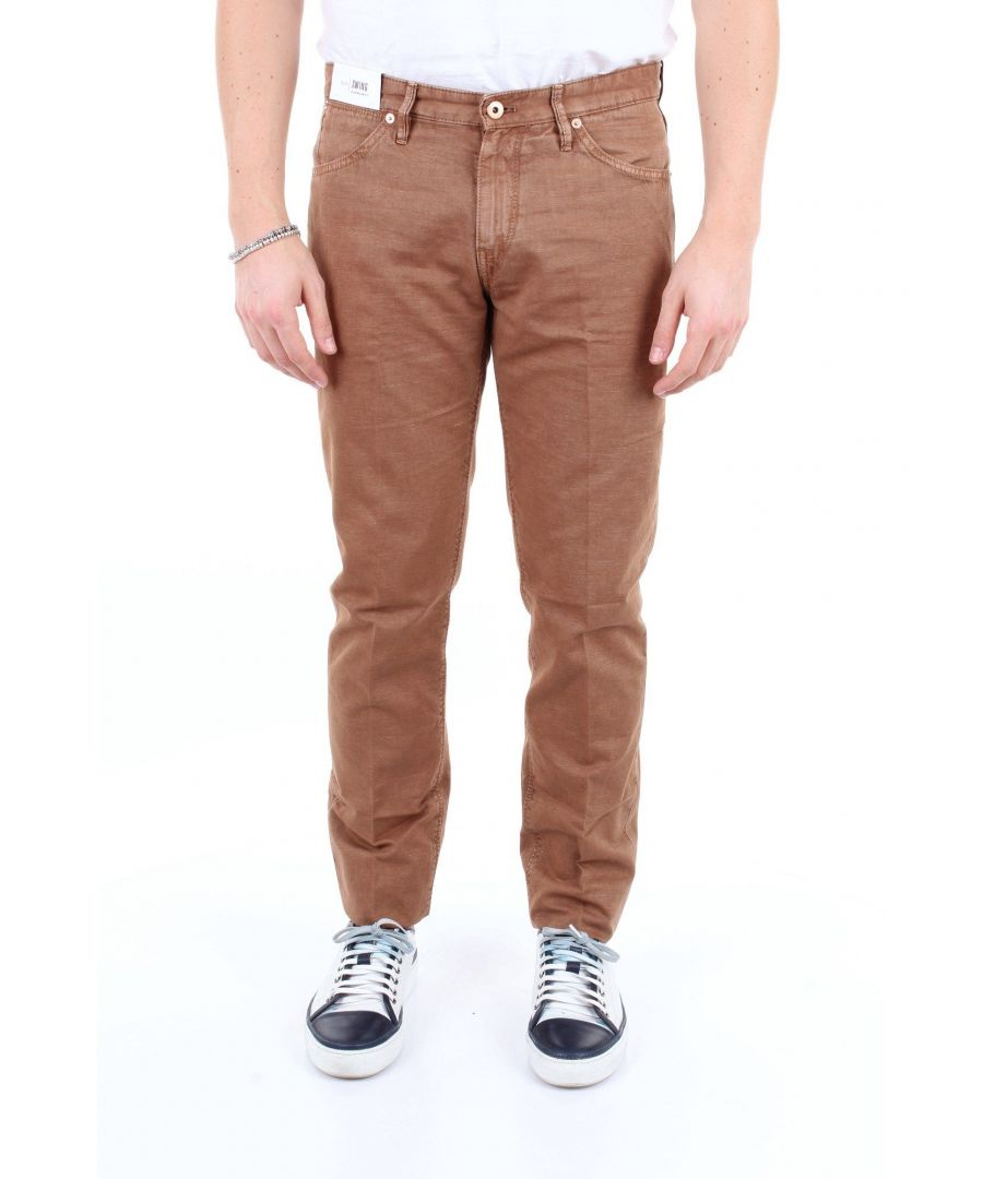Image for PT01 MEN'S NU02DT05Z00MINBISCOTTO BEIGE COTTON PANTS