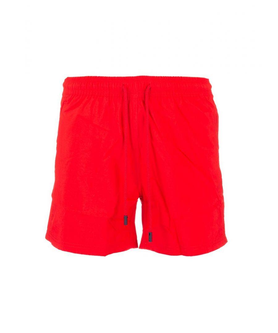 Image for ETRO MEN'S 1B10012450600 RED POLYAMIDE TRUNKS