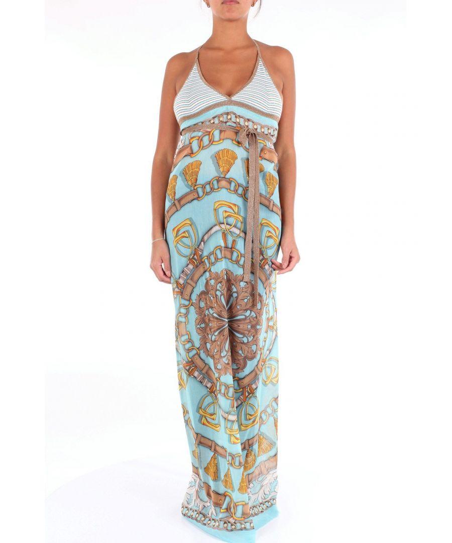 Image for ALTEA WOMEN'S 1951512CELESTEFANTASIA LIGHT BLUE VISCOSE DRESS