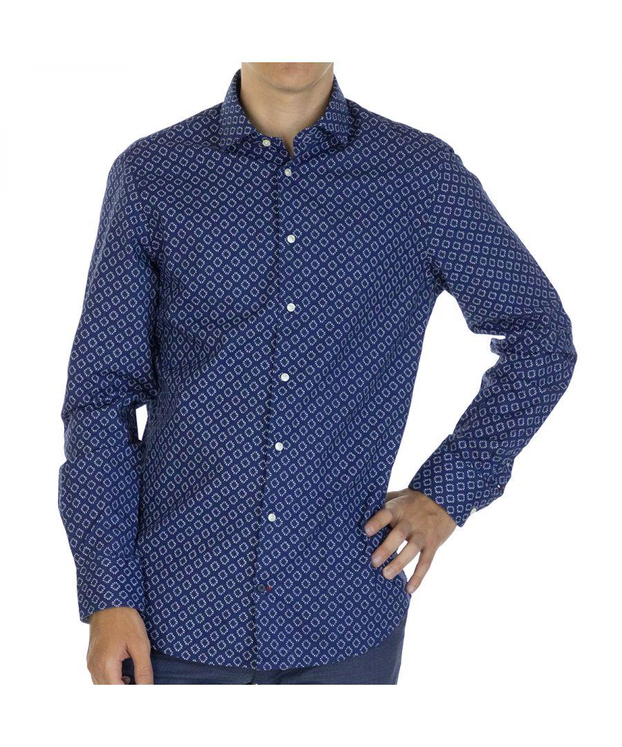 Image for Tommy Hilfiger Men Shirt Slim Fit  Full sleeve Multicolor