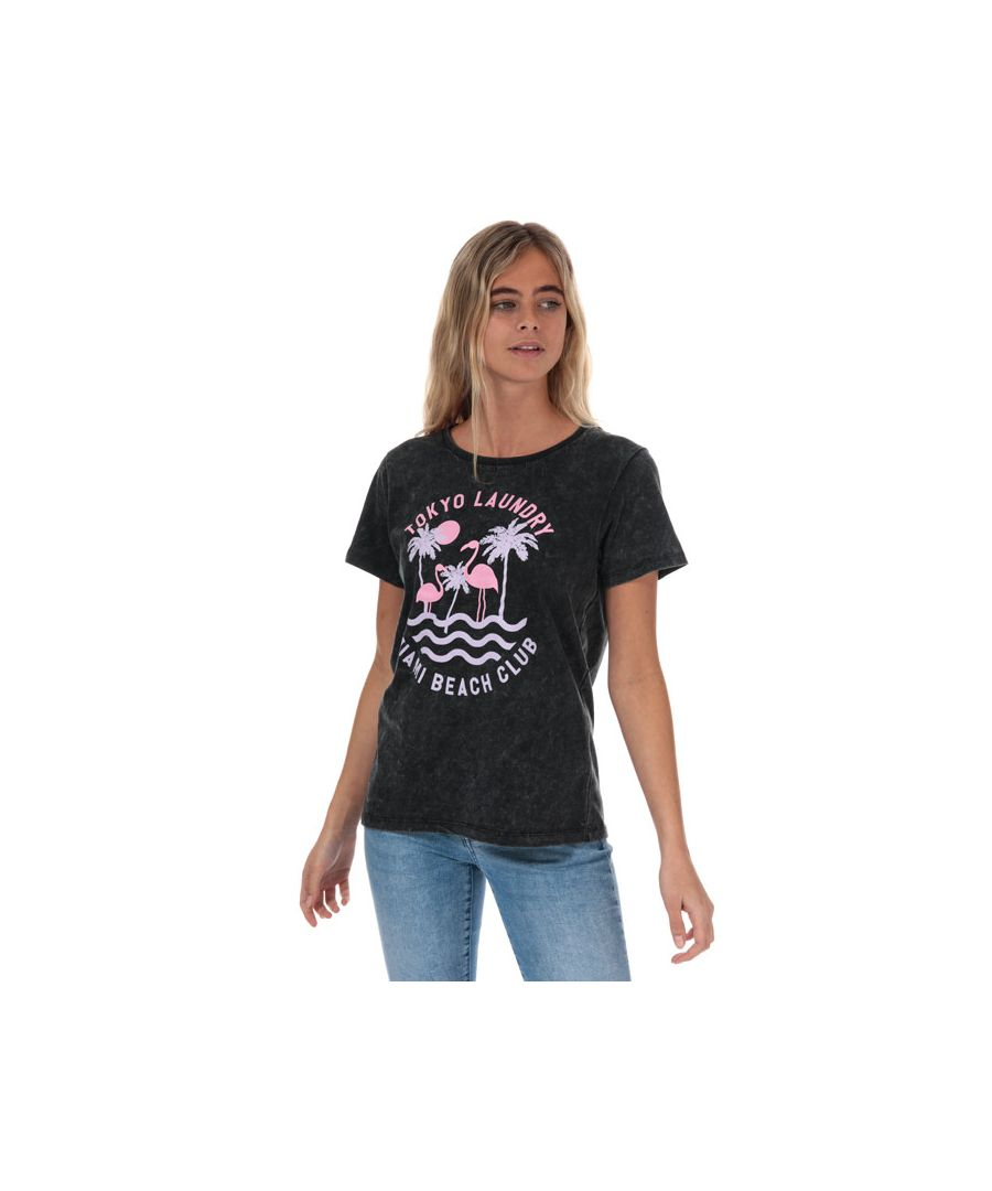 Image for Women's Tokyo Laundry Covetes T-Shirt in Black