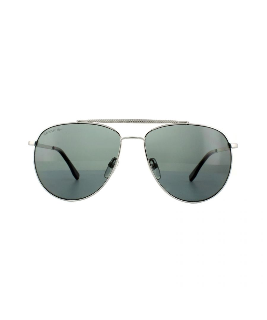 Image for Lacoste Sunglasses L177SP 033 Gunmetal Grey Dark Grey Polarized