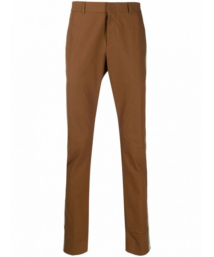 Image for VALENTINO MEN'S TV0RBE5066588M BROWN COTTON PANTS