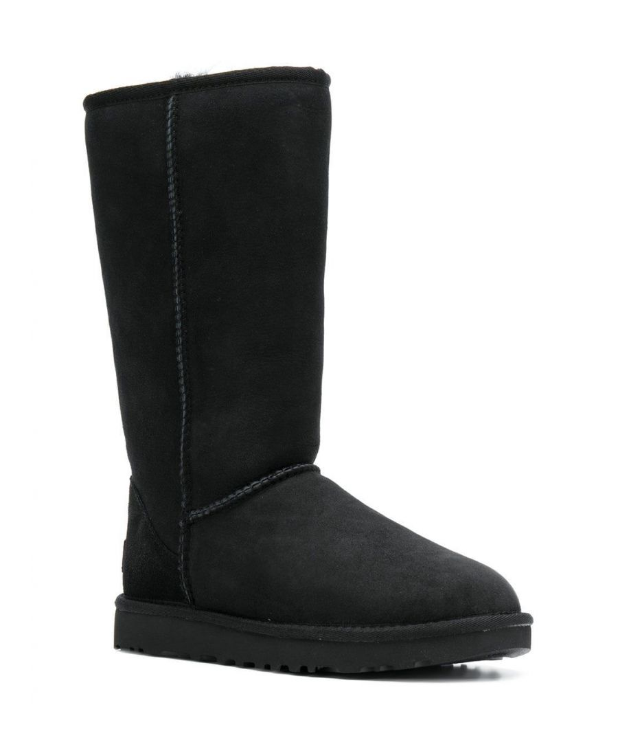 Image for UGG WOMEN'S 1016224WBLACK BLACK SUEDE BOOTS
