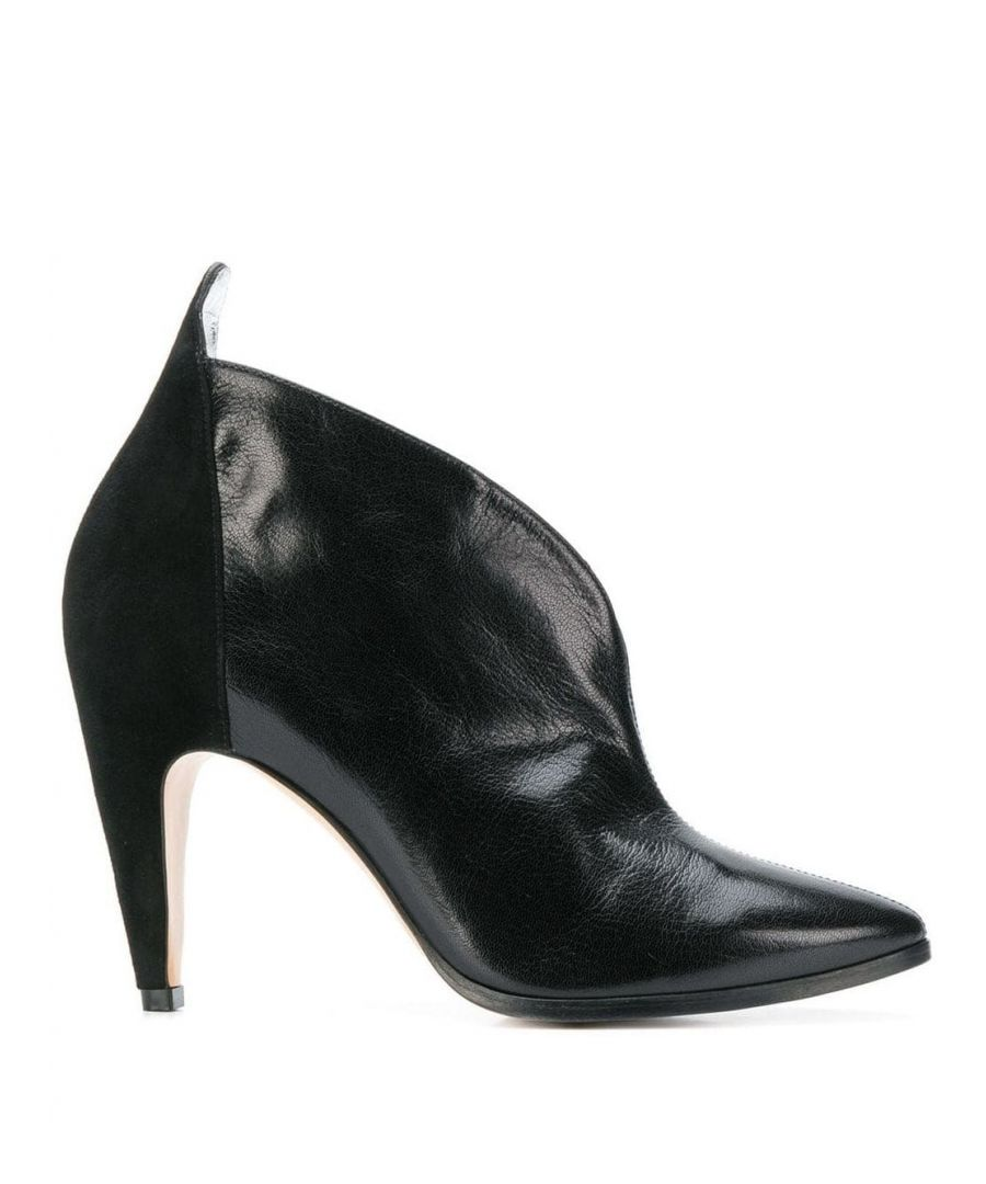 Image for GIVENCHY WOMEN'S BE600LE05L001 BLACK LEATHER ANKLE BOOTS