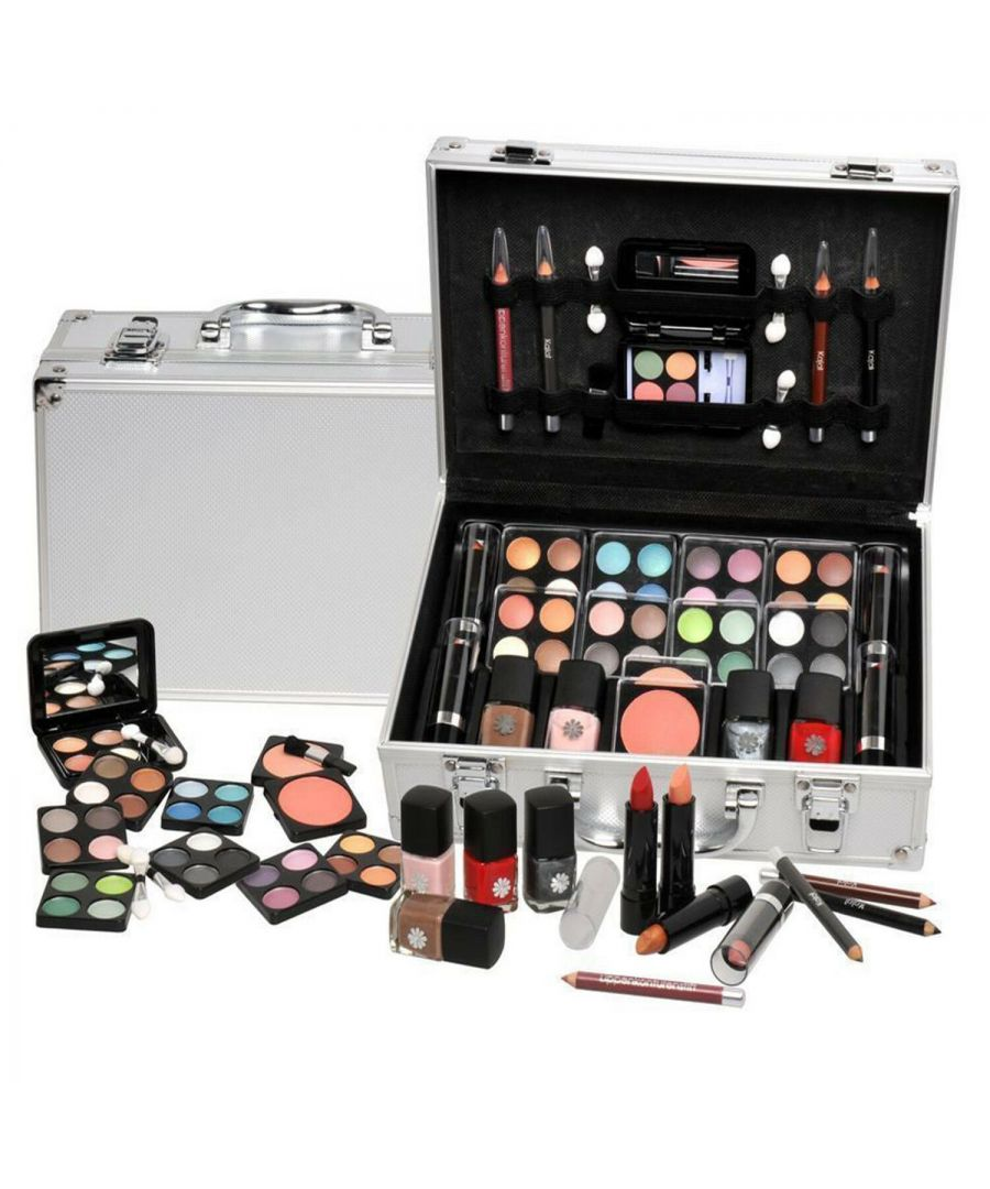 Image for Love Urban Beauty Everybodys Darling Vanity Set 51 Piece Silver