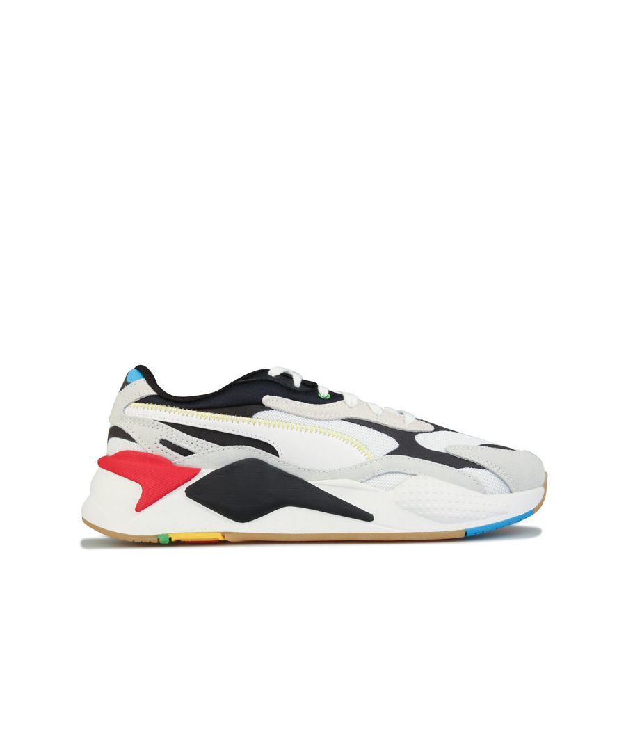 Image for Men's Puma RS-X3 WH Trainers in Black-White