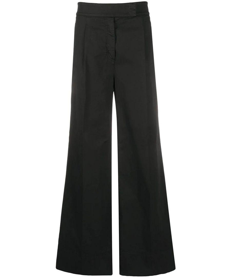 Image for N°21 WOMEN'S 20EN2M0B08100759000 BLACK COTTON PANTS