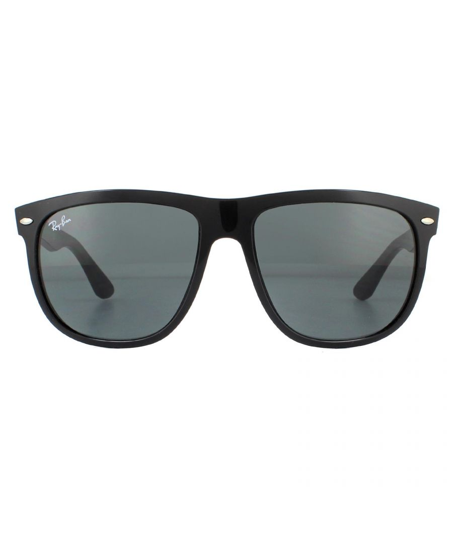 Image for Ray-Ban Sunglasses Boyfriend RB4147 601/87 Black  Dark Grey