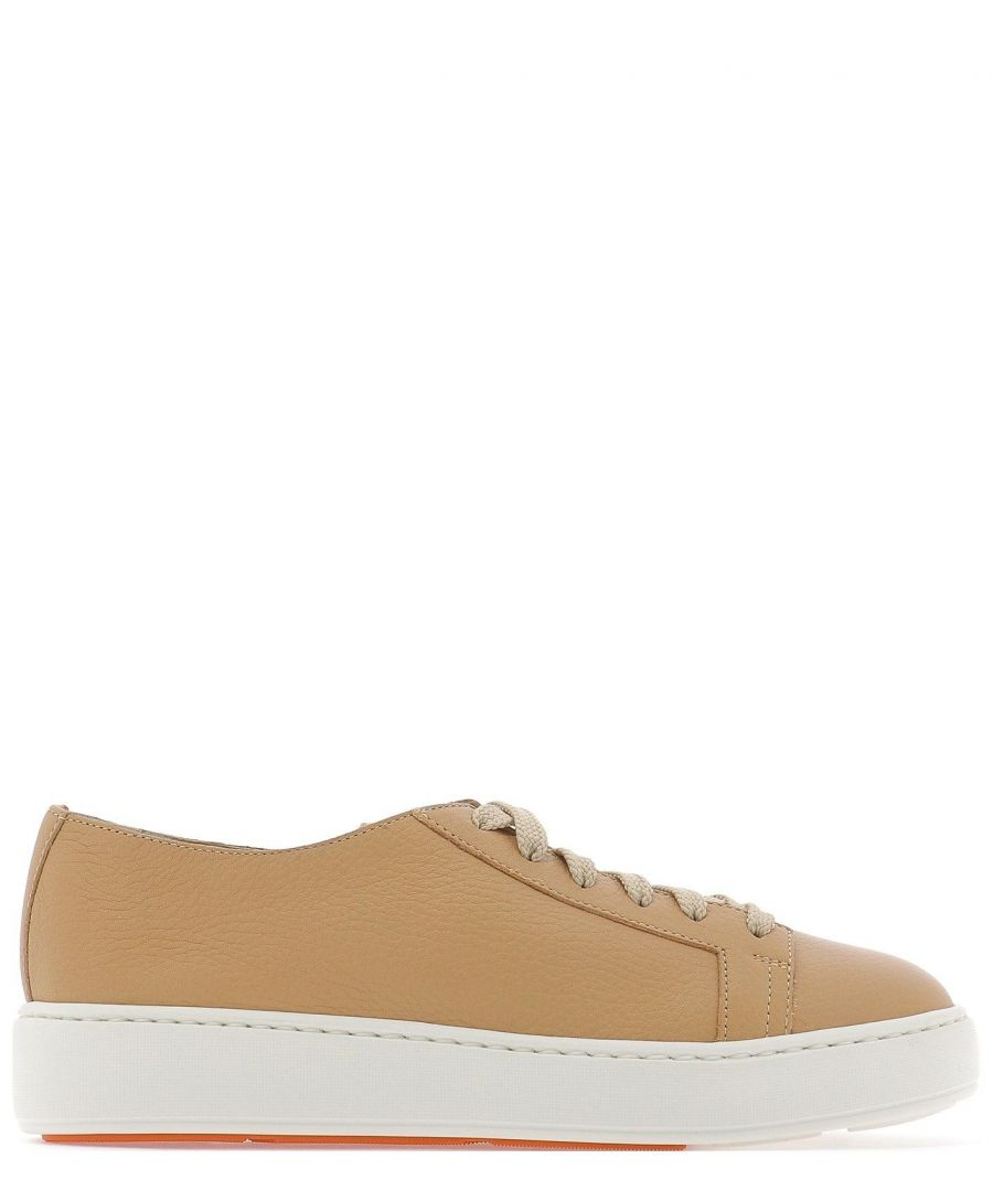 Image for SANTONI WOMEN'S WBCE53853BARCMYLE50 BEIGE LEATHER SNEAKERS