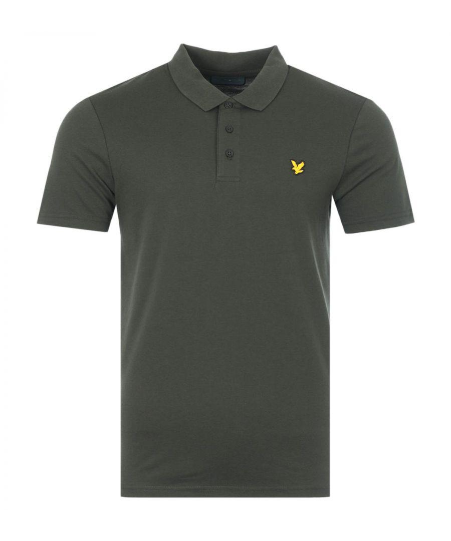 Image for Lyle & Scott Sport Short Sleeve Polo Shirt - Deep Spruce