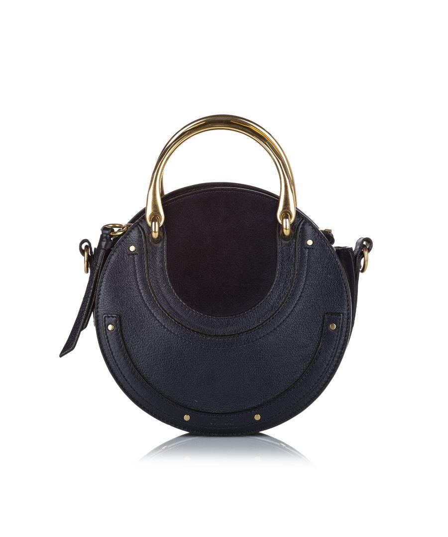 Image for Vintage Chloe Pixie Leather Satchel Black
