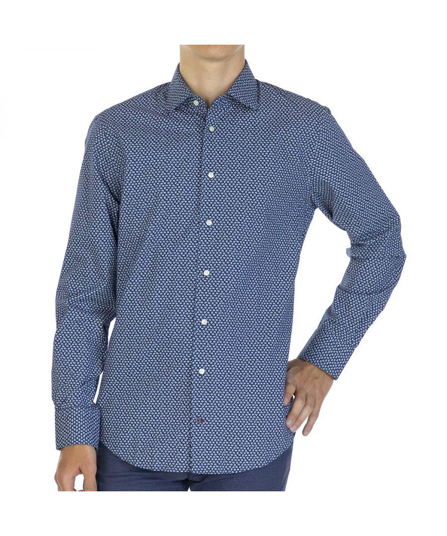 Image for Tommy Hilfiger Men Shirt Floral Regular fit  Full sleeve Multicolor