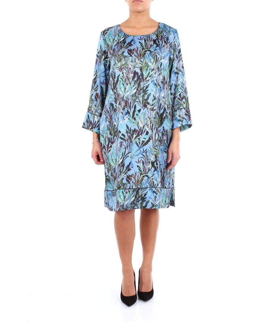 Image for ALTEA WOMEN'S 1966500CELESTEFANTASIA LIGHT BLUE VISCOSE DRESS
