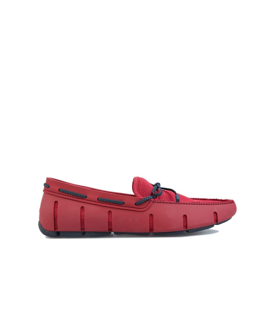Image for Men's Swims Braided Lace Loafer in Red