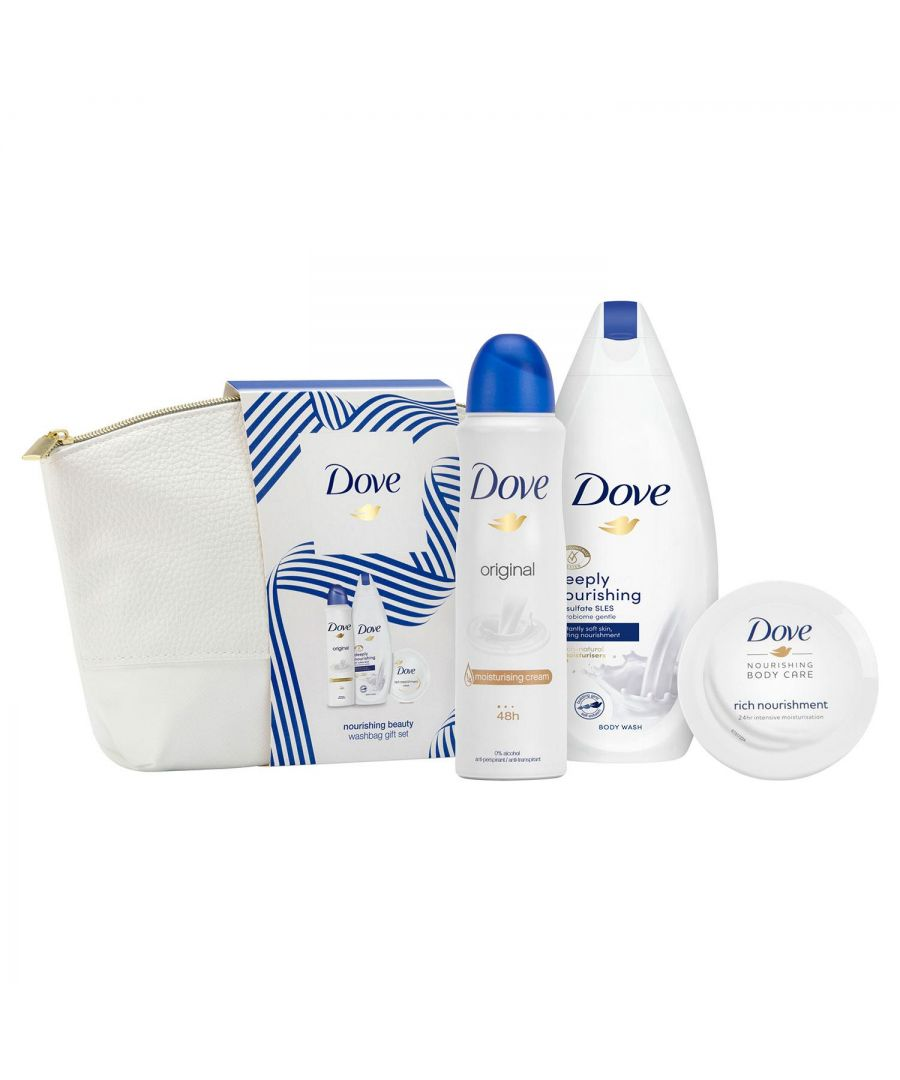Image for Dove Nourishing Beauty Washbag Gift Set