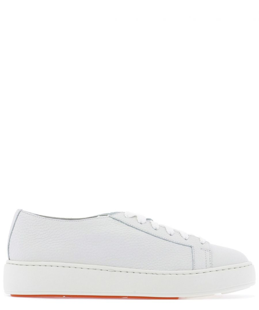 Image for SANTONI WOMEN'S WBCE53853BARCMYLI50 WHITE LEATHER SNEAKERS