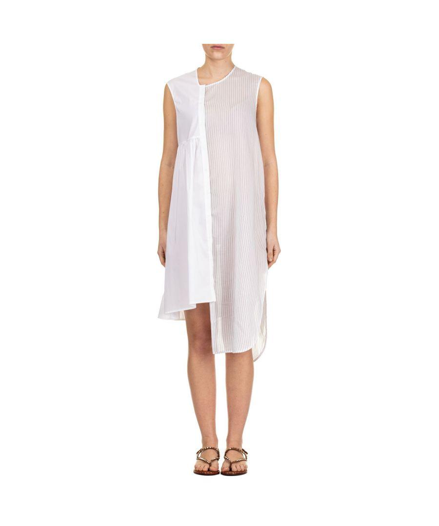 Image for LIVIANA CONTI WOMEN'S L9EK57A01Y WHITE VISCOSE DRESS