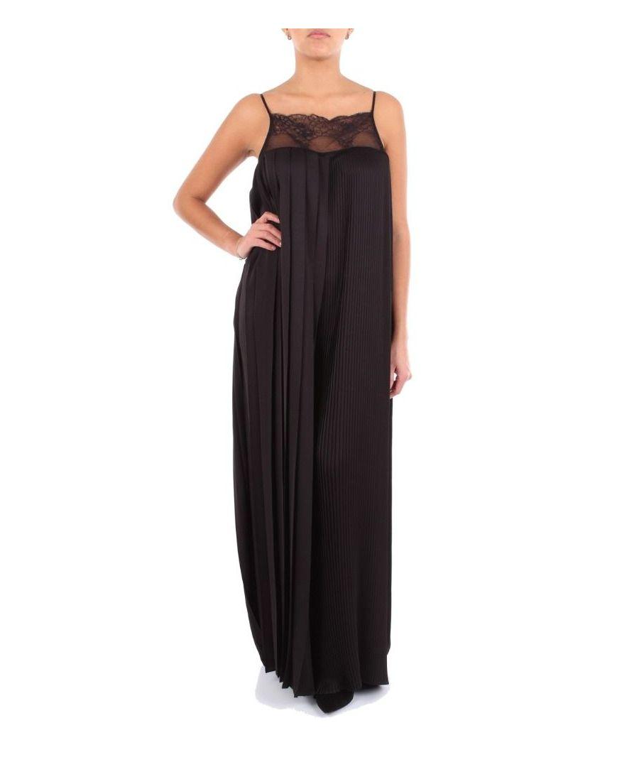 Image for BLUMARINE WOMEN'S 3607BLACK BLACK POLYESTER DRESS