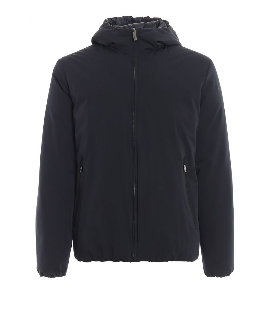 Image for RRD MEN'S W1902360 BLUE POLYESTER DOWN JACKET