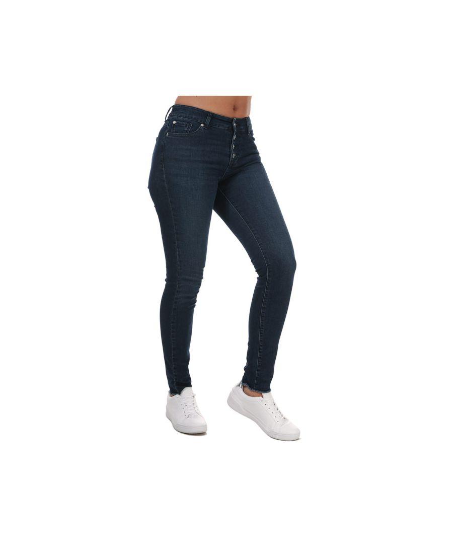 Image for Women's Armani J27 Super Skinny Jeans in Denim