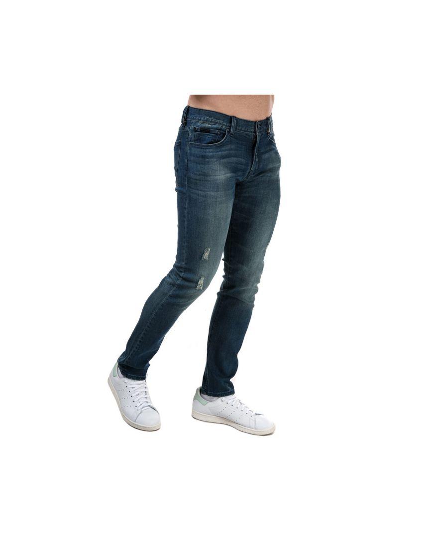 Image for Men's Armani J13 Slim Fit Jeans in Denim