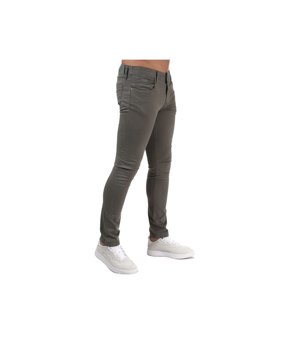 Image for Men's Armani J14 Skinny Fit Jeans in Green