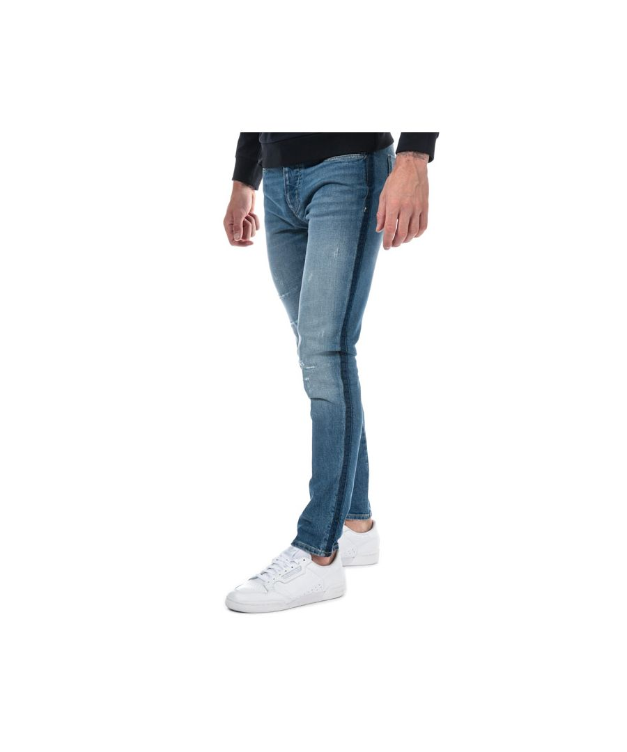 Image for Men's Armani J11 Skinny Fit Jeans in Denim