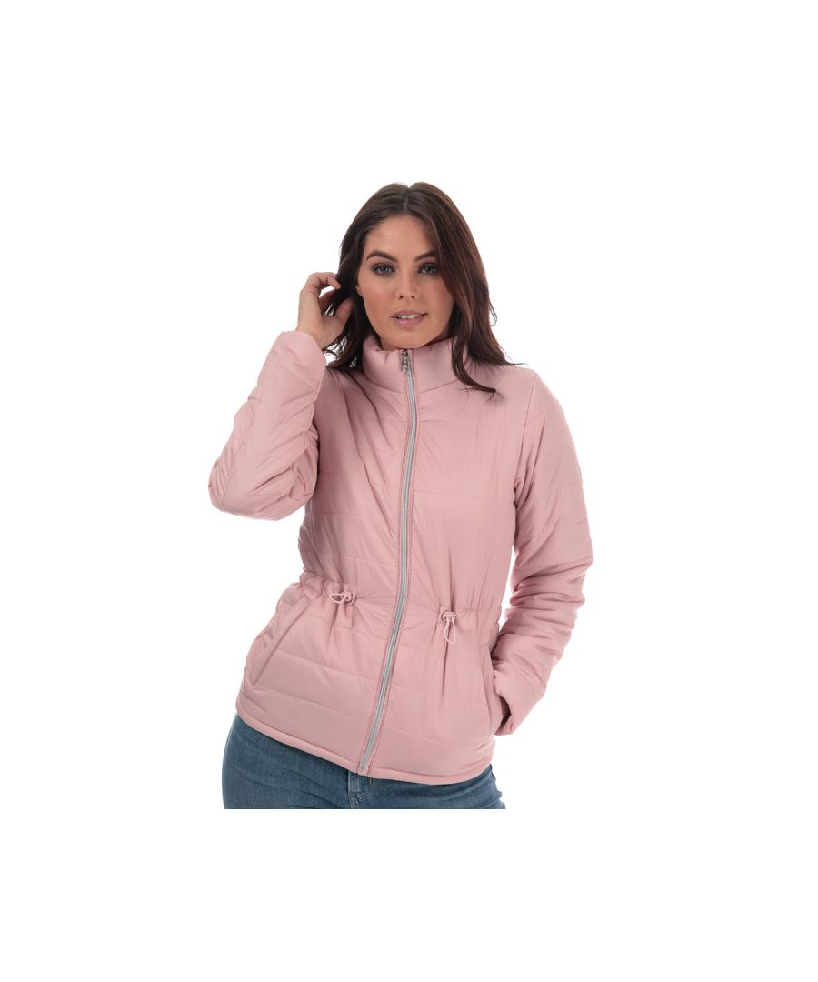 Image for Women's Tokyo Laundry Syros Light Packaway Jacket in Dusky Pink