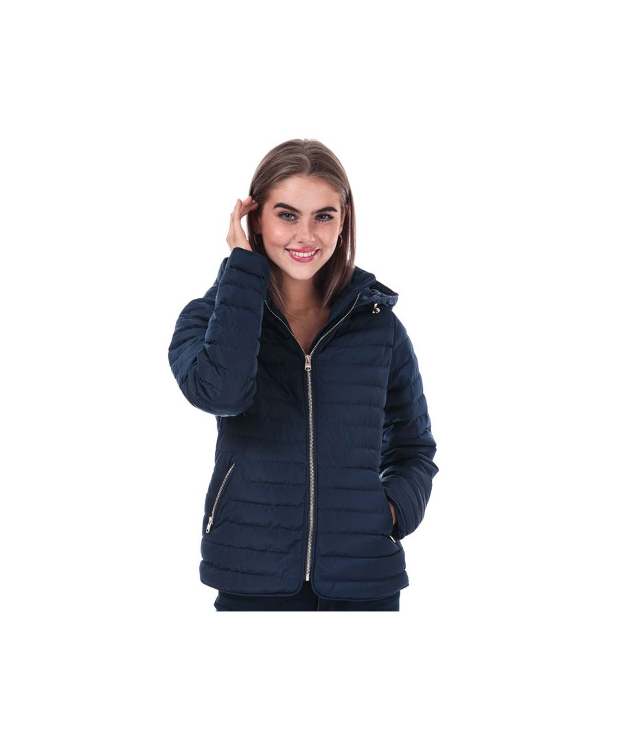 Image for Women's Tokyo Laundry Ginger Hooded Jacket in Navy