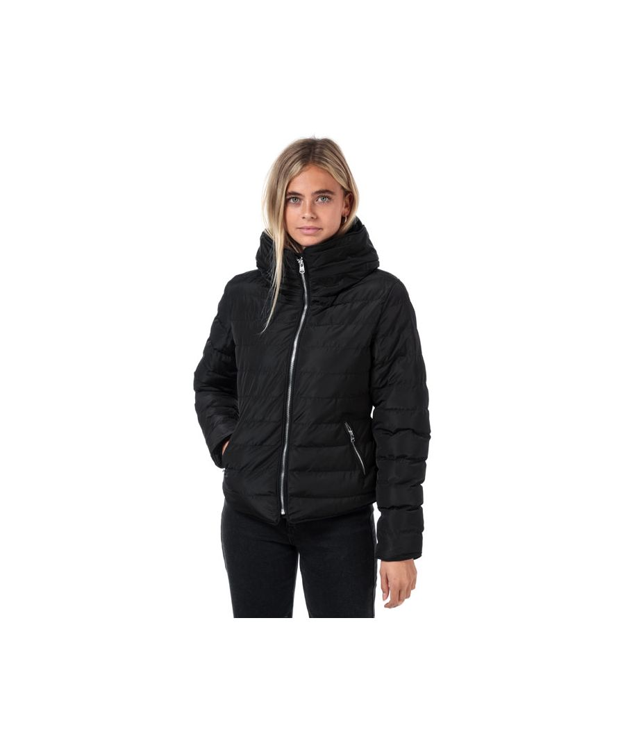 Image for Women's Tokyo Laundry Quince Quilted Puffer Jacket in Black