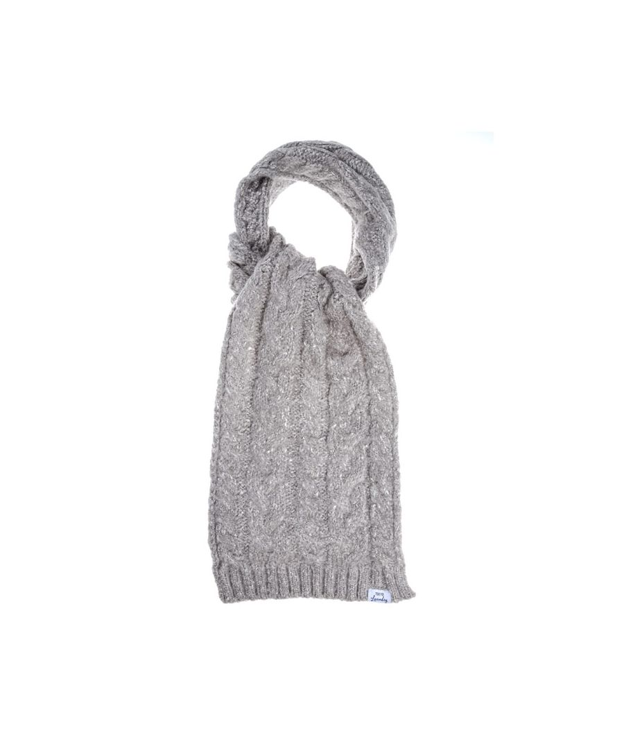 Image for Accessories Tokyo Laundry Billie Scarf in Grey Marl