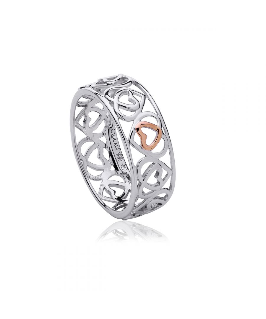 Image for Affinity Heart Band Ring