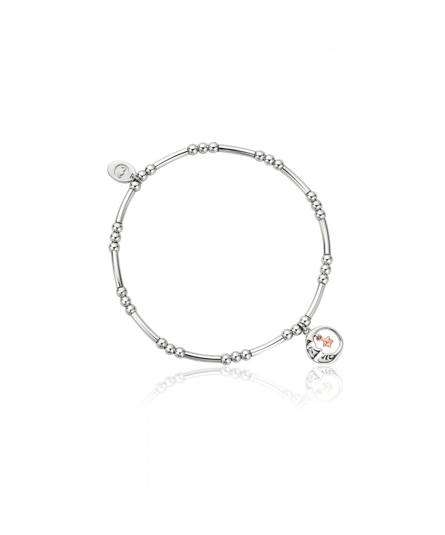 Image for Moon and Star Affinity Bead Bracelet 16.5-17.5cm