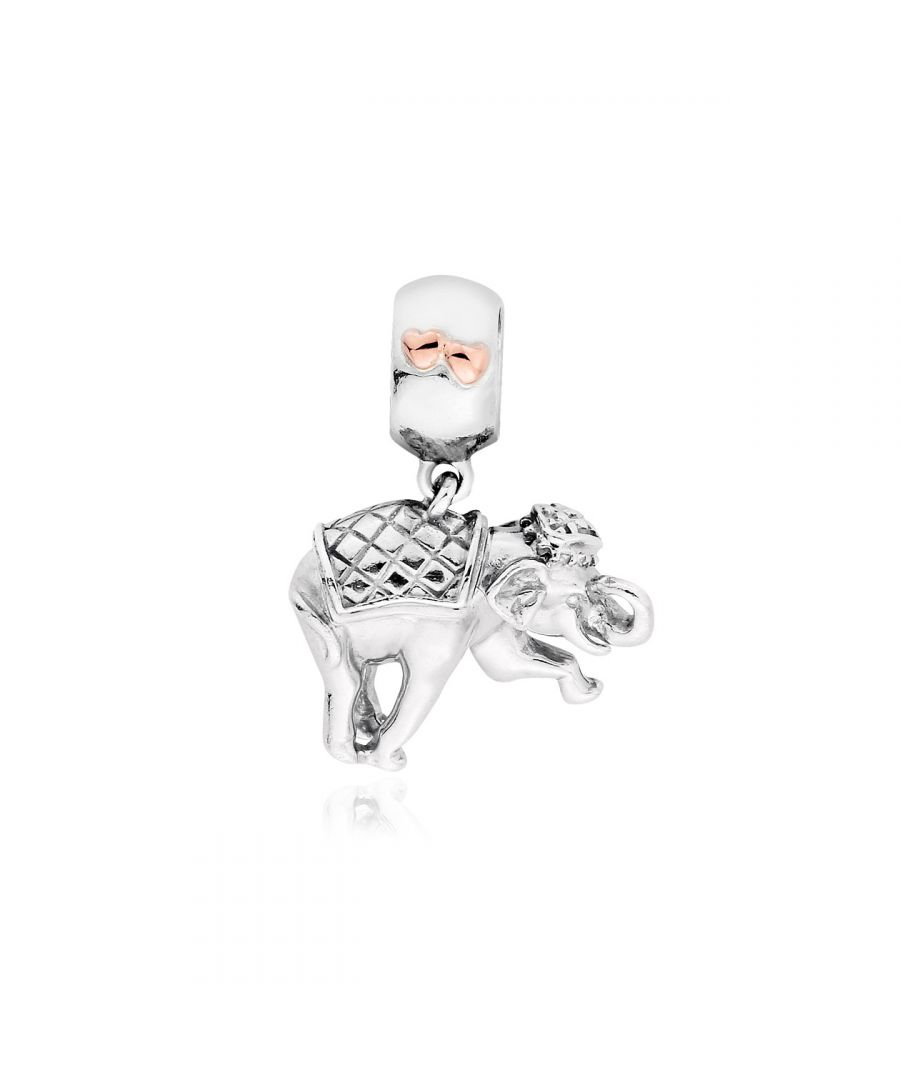 Image for Elephant Milestones Bead Charm
