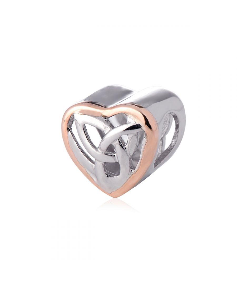 Image for Eternal love Heart Milestones Bead Charm