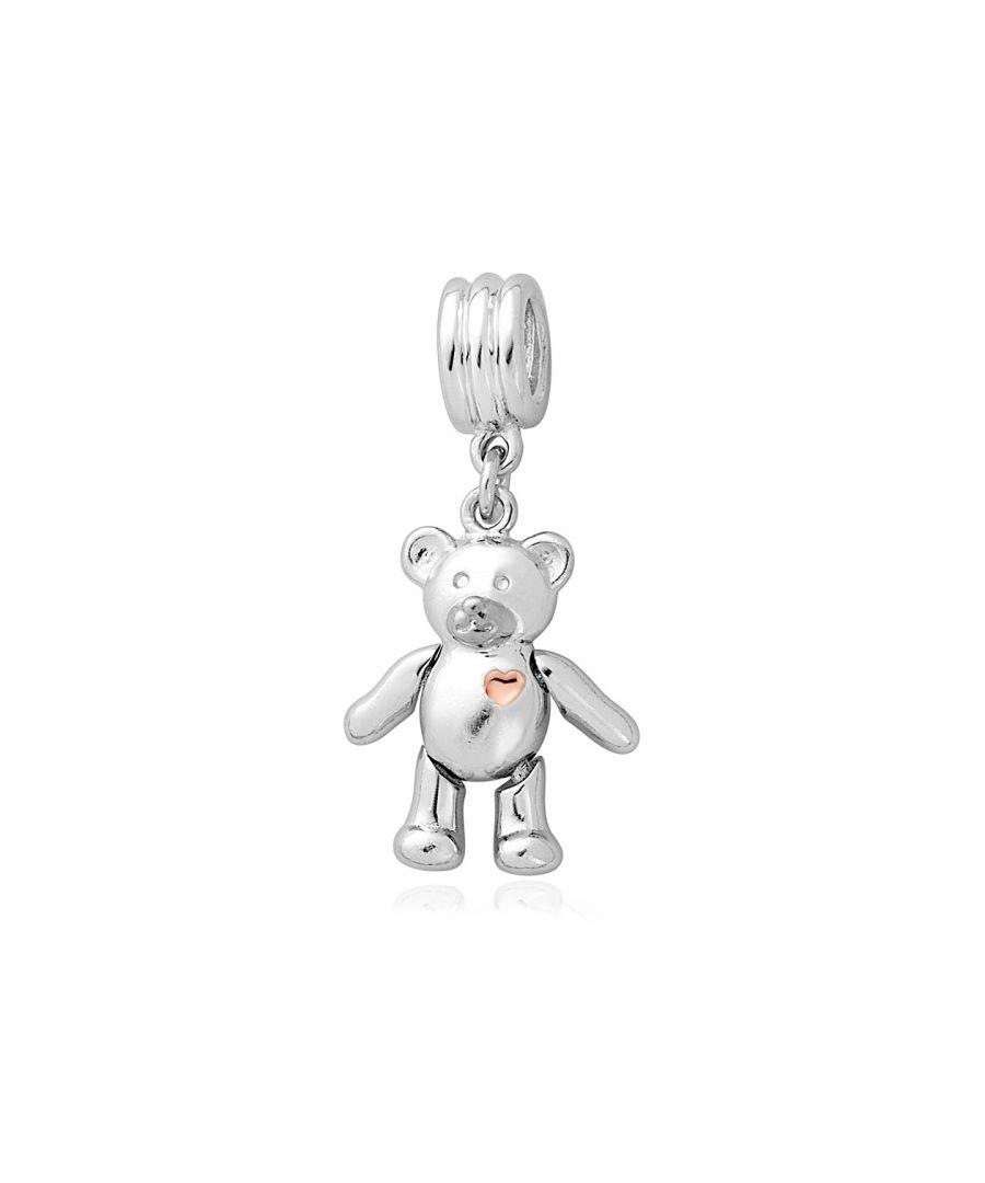 Image for Teddy Bear Milestones Bead Charm