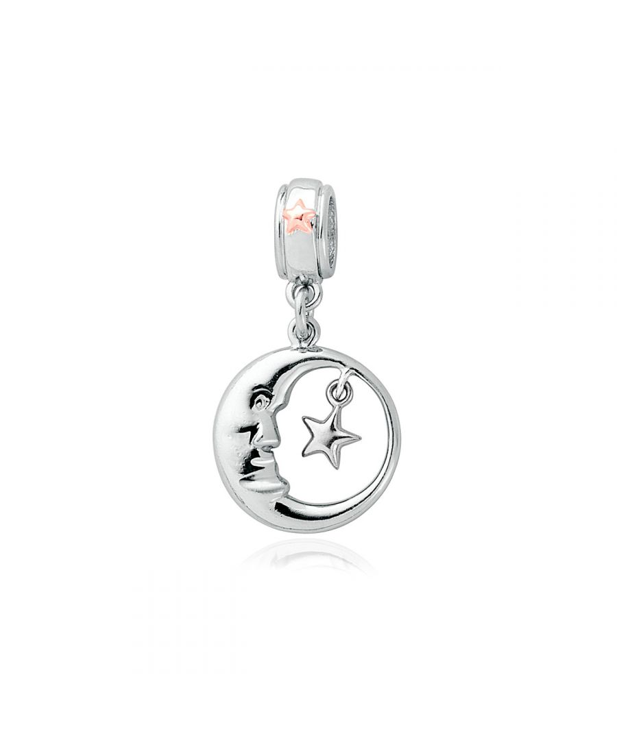Image for Man in the Moon Milestones Bead Charm
