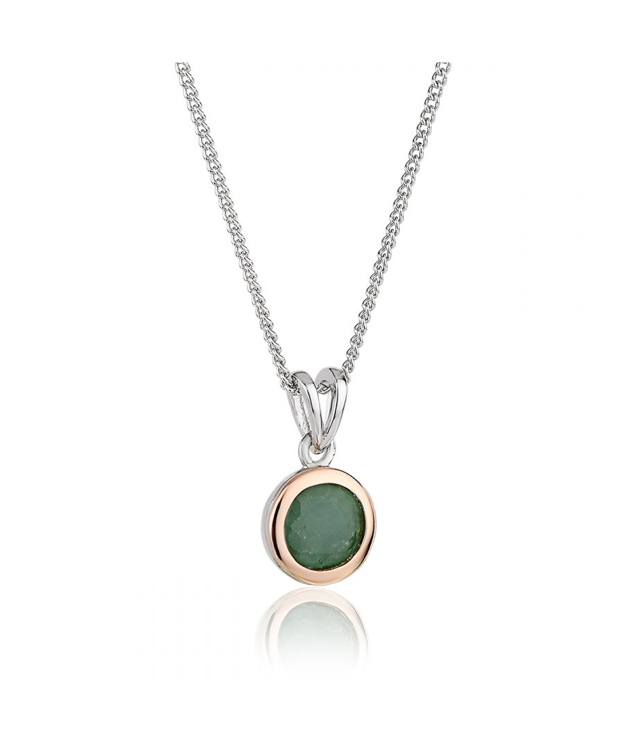 Image for Emerald May Birthstone Pendant