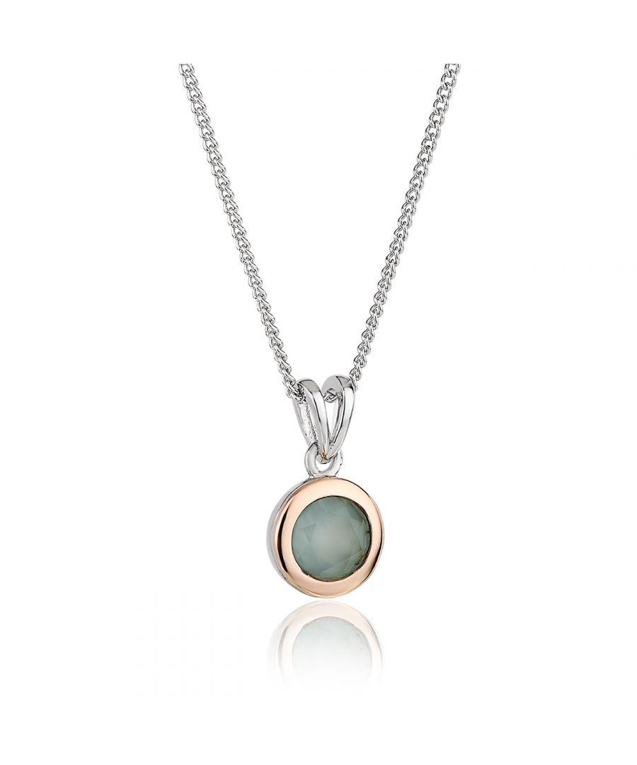 Image for Agate September Birthstone Pendant