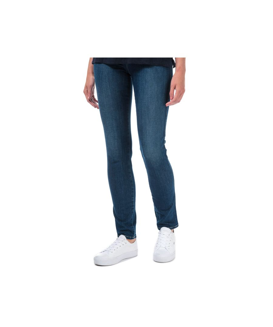 Image for Women's Armani J18 Slim Fit Jeans in Dark Blue