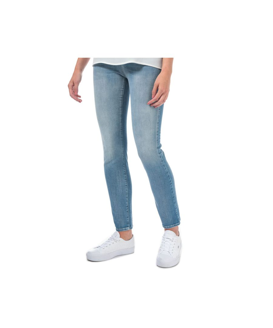 Image for Women's Armani J18 Slim Fit Jeans in Denim