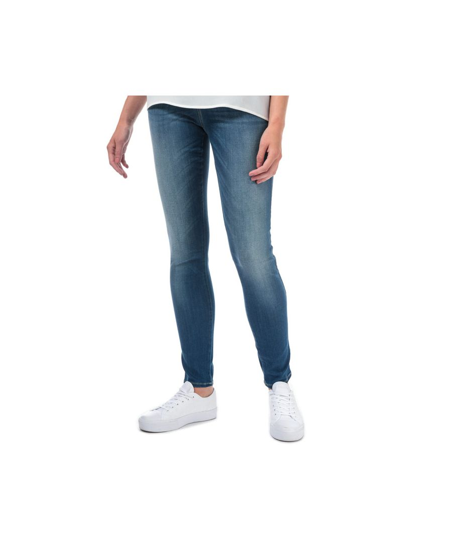 Image for Women's Armani J20 Skinny Fit Jeans in Denim