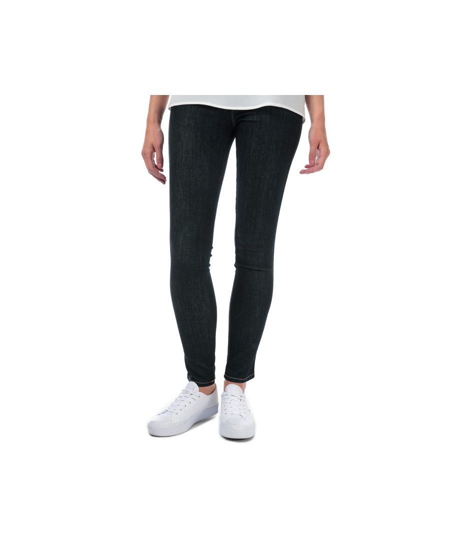 Image for Women's Armani J20 Skinny Fit Jeans in Dark Blue