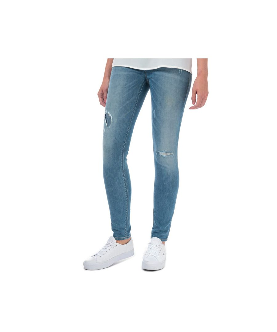 Image for Women's Armani J28 Skinny Fit Jeans in Denim