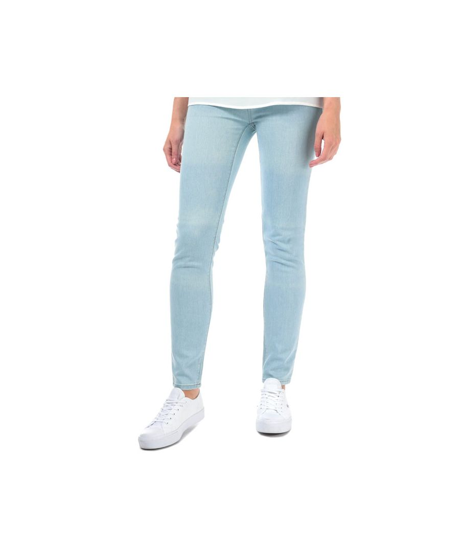 Image for Women's Armani J28 Skinny Fit Jeans in Light Blue
