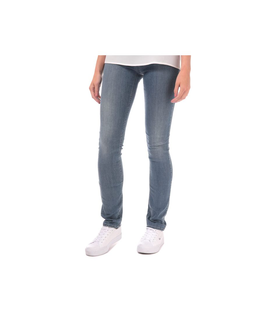 Image for Women's Armani J85 Regular Fit Jeans in Denim