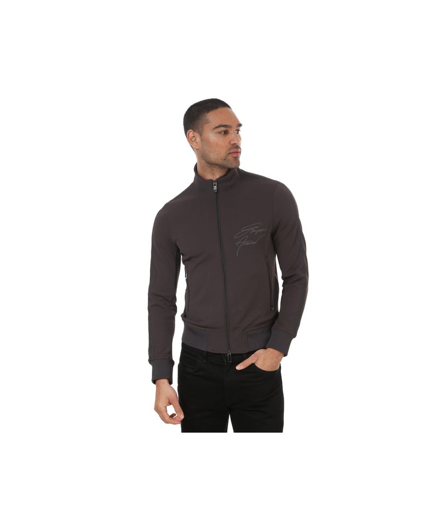 Image for Men's Armani Technical Stretch Jacket in Grey
