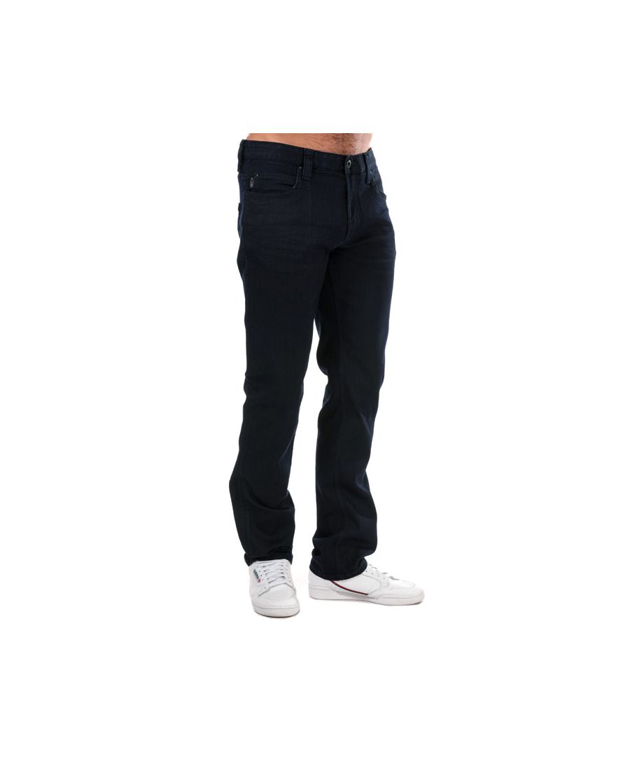 Image for Men's Armani J15 Regular Fit Jeans in Denim