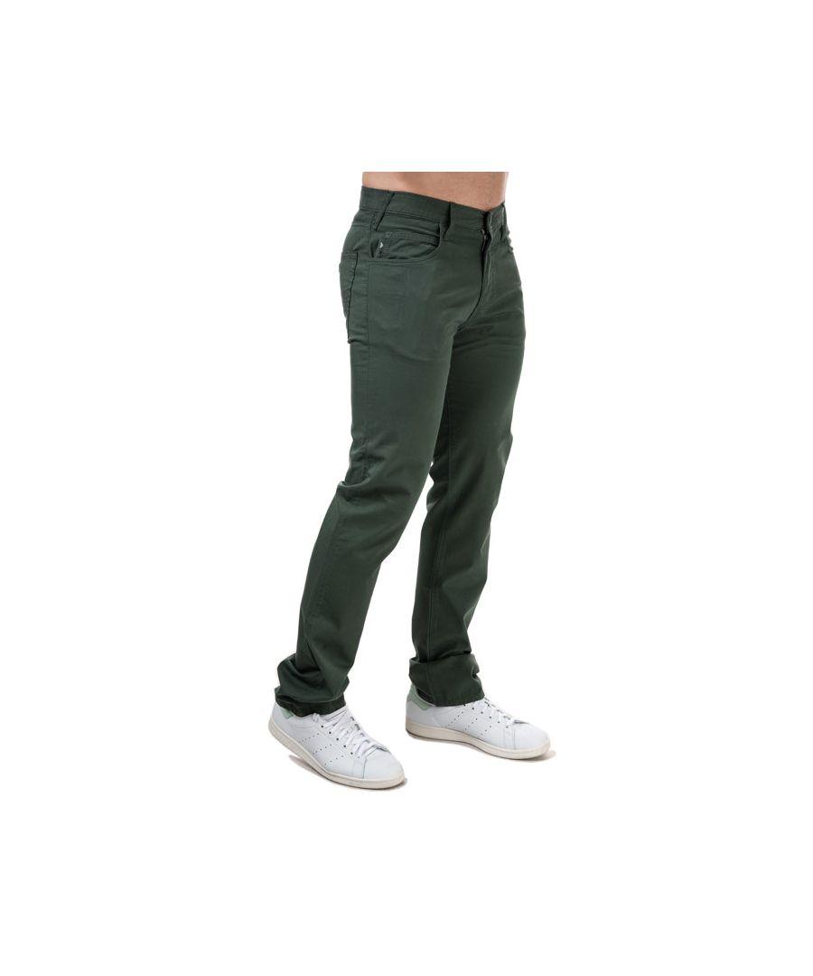 Image for Men's Armani J45 Slim Fit Jeans in Green